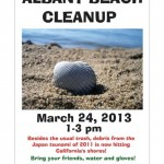 March 24 cleanup Poster